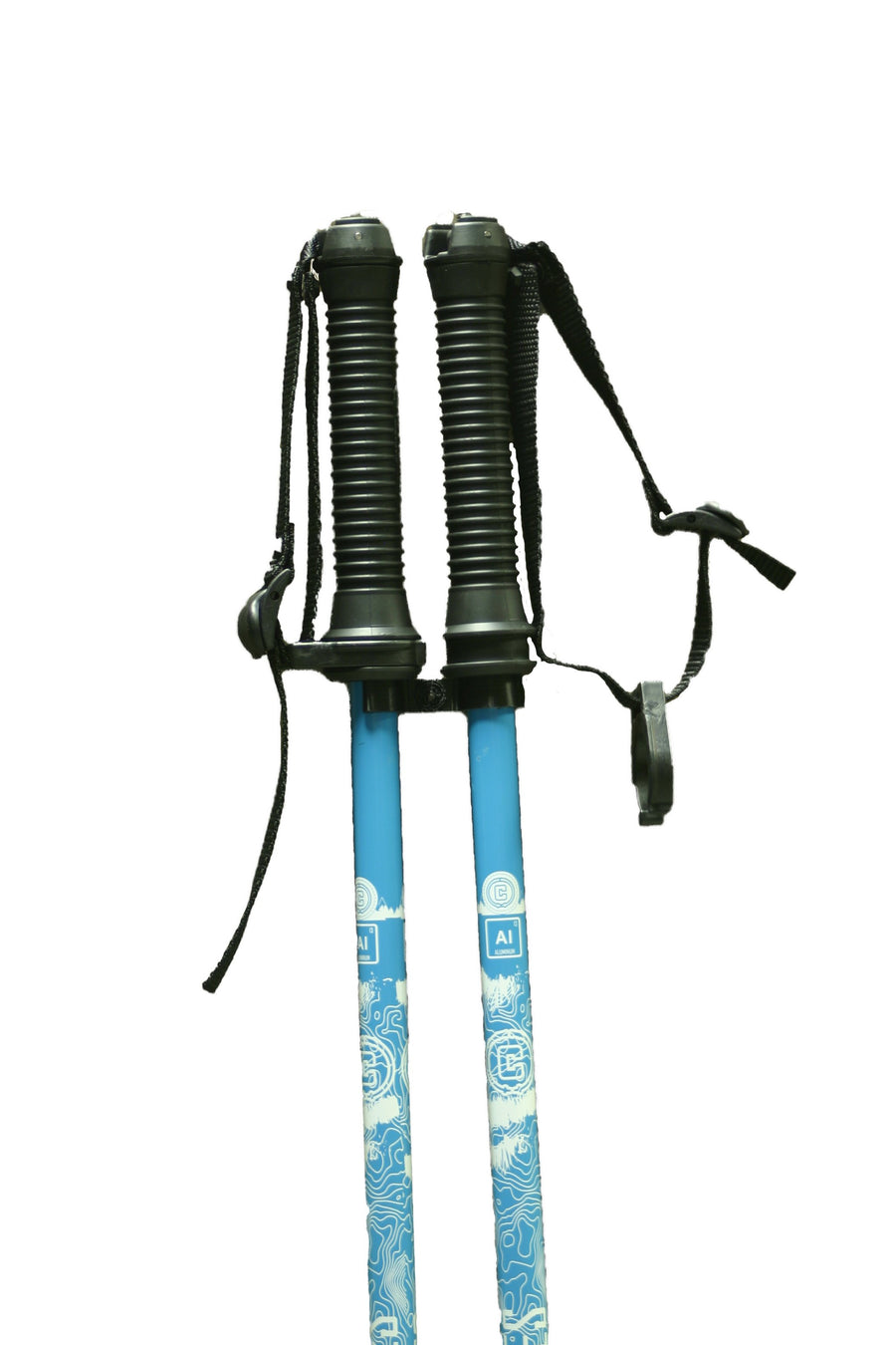 TRAJECTORY Aluminum Ski Pole - Blue