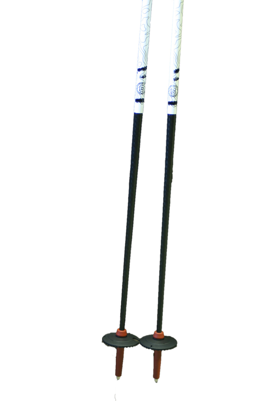 TRAJECTORY Carbon Ski Pole - Burgundy