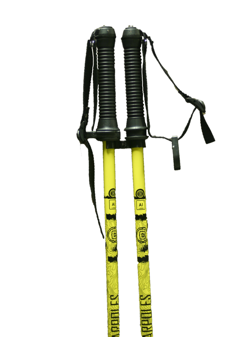 TRAJECTORY Aluminum Ski Pole - Yellow
