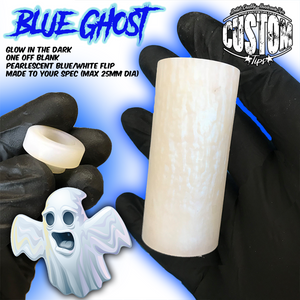 Glowing Blue Ghost