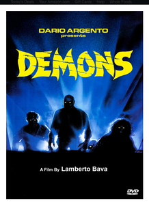 SIGNED! DVD DEMONS HORROR MOVIE CLASSIC