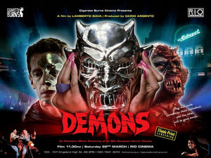 POSTER FROM UK DEMONS