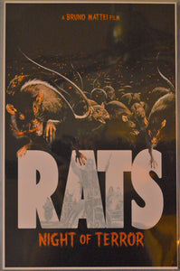 POSTER RATS: NIGHT OF TERROR