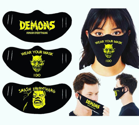 MASK STAY SAFE WITH DEMONS! &GERETTA!!