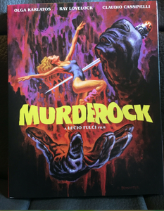 SIGNED! DVD MURDER ROCK / DANCE TO THE DEATH
