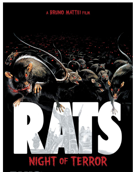 SIGNED! DVD RATS NIGHT OF TERROR