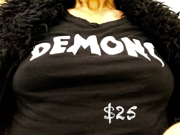 WOMENS DEMONS  TEE SHIRT - FINALLY!
