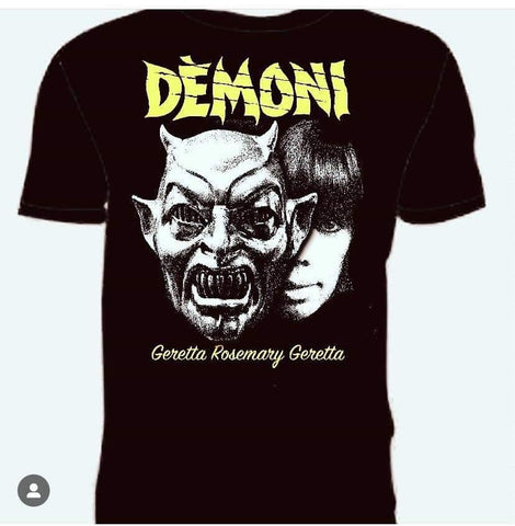 DEMONS TEE DOUBLE FACED!