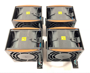 Lot of 4 IBM X3650 M4 Server System Fans GFC0812DS 69Y5611