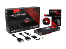 Load image into Gallery viewer, AMD FirePro W8100 100-505976 8GB 512-bit GDDR5 PCI Express 3.0 x16 CrossFire Supported Workstation Video Card