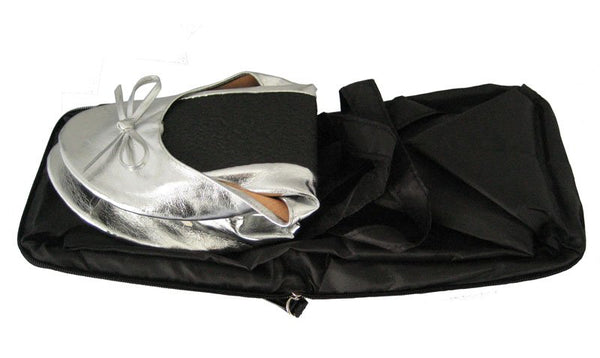 shoes that fit in your handbag fold up hand bag shoes