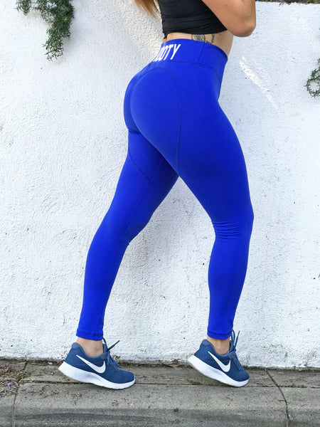 ROYAL HEART VEGAN BOOTY LEGGINGS