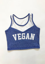 ROYAL DYE VEGAN CROP TOP