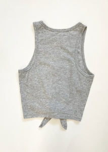 GREY GODDESS CROP TOP