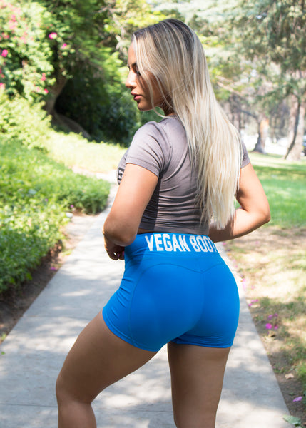 VEGAN BOOTY HEART SHAPE SHORTS