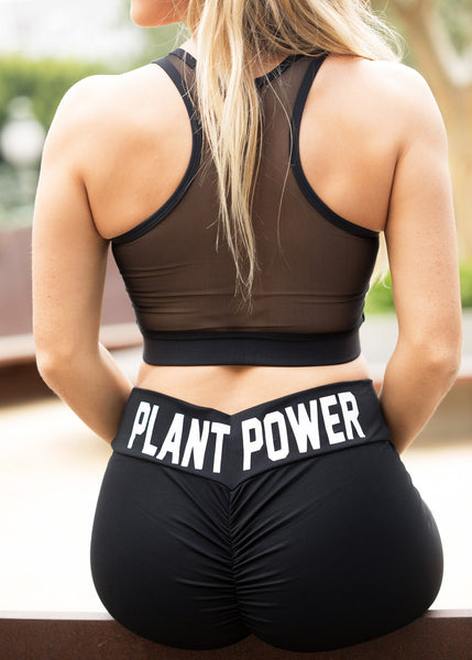 Scrunchy Plant Power Leggings