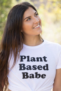 PLANT BASED WHITE T-SHIRT
