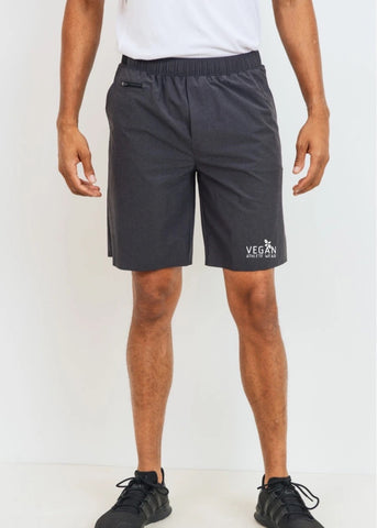 Vegan Athlete Athletic Perforated Shorts