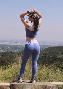 ROYAL DYE VEGAN BOOTY LEGGINGS