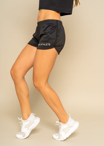 Vegan Athlete Black Essentials Shorts