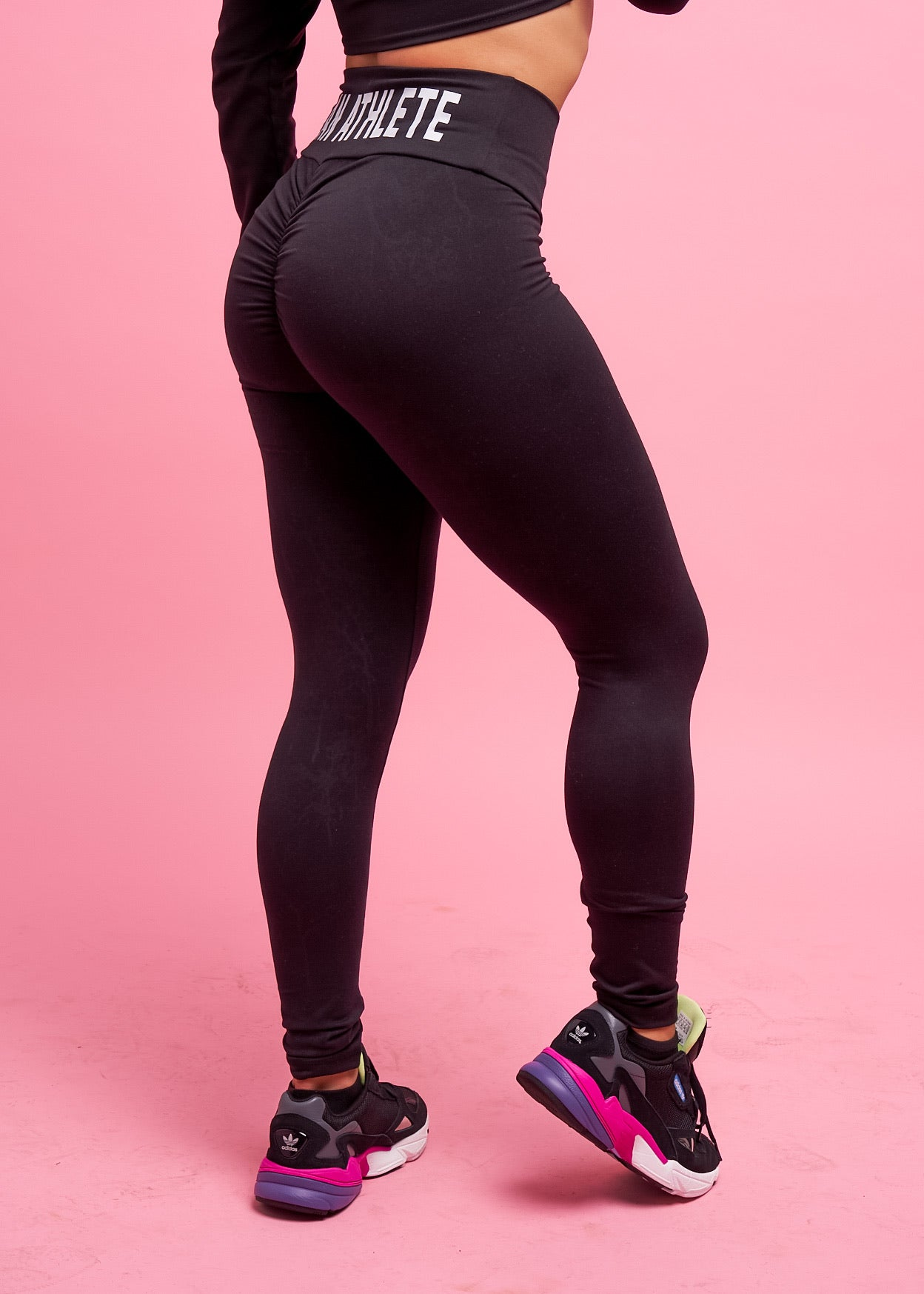 Vegan Athlete Scrunch Leggings