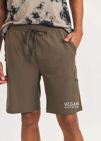Vegan Athlete Active Drawstring Shorts