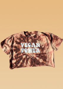 Cosmic Dye Vegan Power Crop Shirt