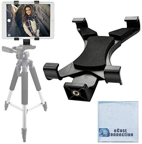 FREE SHIPPING: Acuvar Tablet Tripod Mount (Universal) fits iPad Tablets and Other Tablets + an eCostConnection Microfiber Cloth : Camera & Photo - Outlist