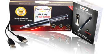 1080p HD Hidden Camera Pen Bundle 16GB SD Micro Card + USB Card Reader and more - Outlist