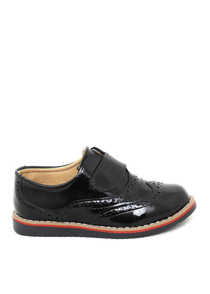 Kid's Patent Leather Casual Shoes