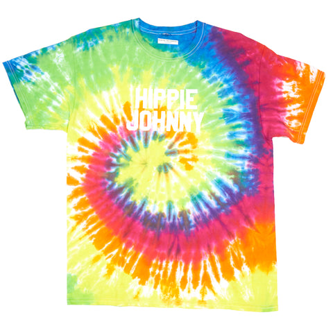 HIPPIE JOHNNY TIE DYE TSHIRT