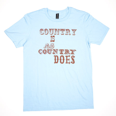 COUNTRY IS... TSHIRT