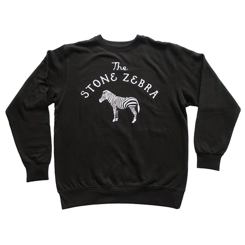 The Stone Zebra Crew Sweatshirt