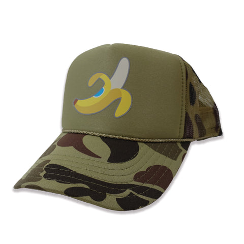 Banana Trucker Hat - Camo