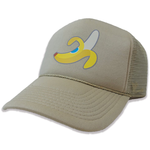 Banana Trucker Hat - Khaki