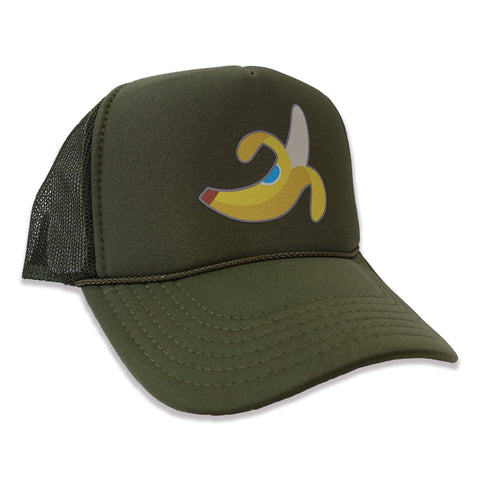 Banana Trucker Hat - Olive
