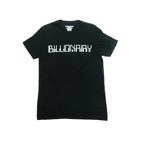 BILLIONAIRY tshirt- Black