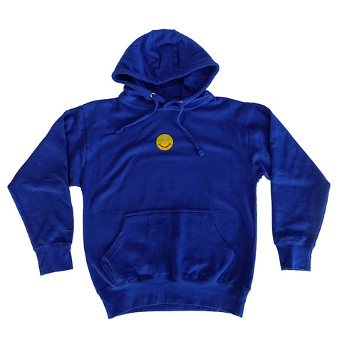 Smiley Cyrus Hoodie - Royal Blue