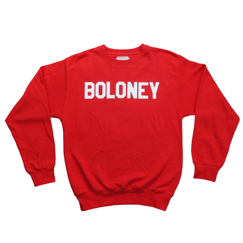 Boloney Crewneck - Red