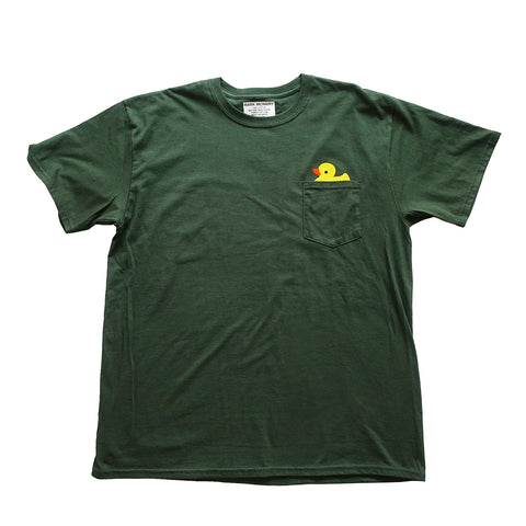 Duck Pocket Tshirt - Hunter Green