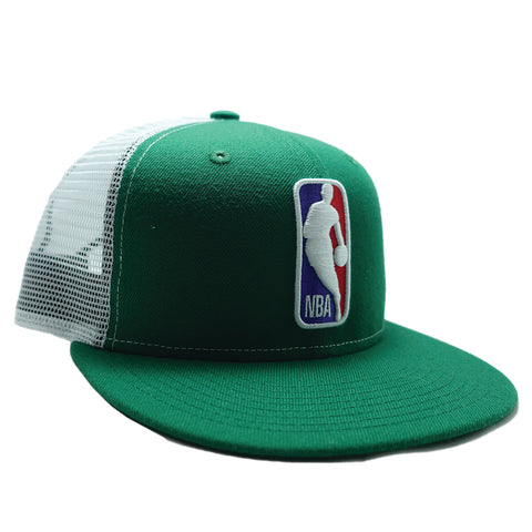 Green NBA Logo Snapback