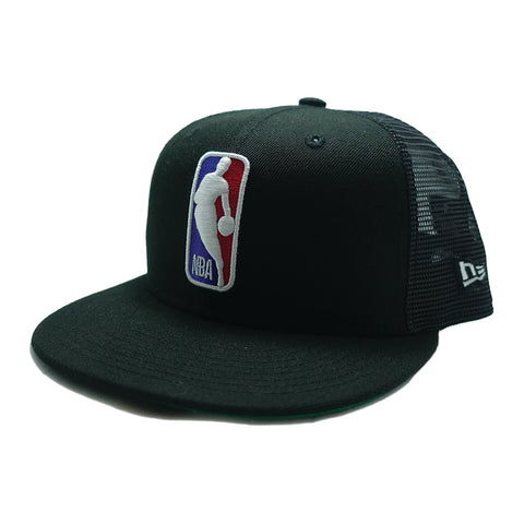 NBA Logo Snapback- Black