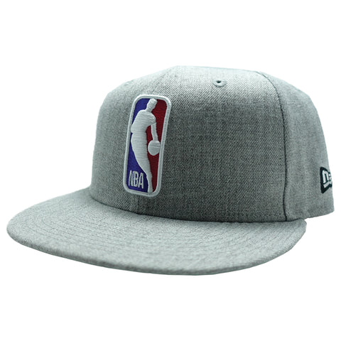 Grey NBA Logo Snapback