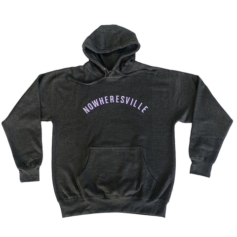 Nowheresville Hoodie - Charcoal