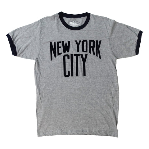 NYC Ringer - Sports Grey