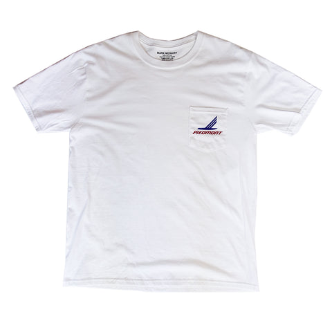 Piedmont Pocket tshirt - White