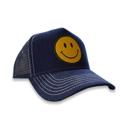 Smiley Denim Trucker
