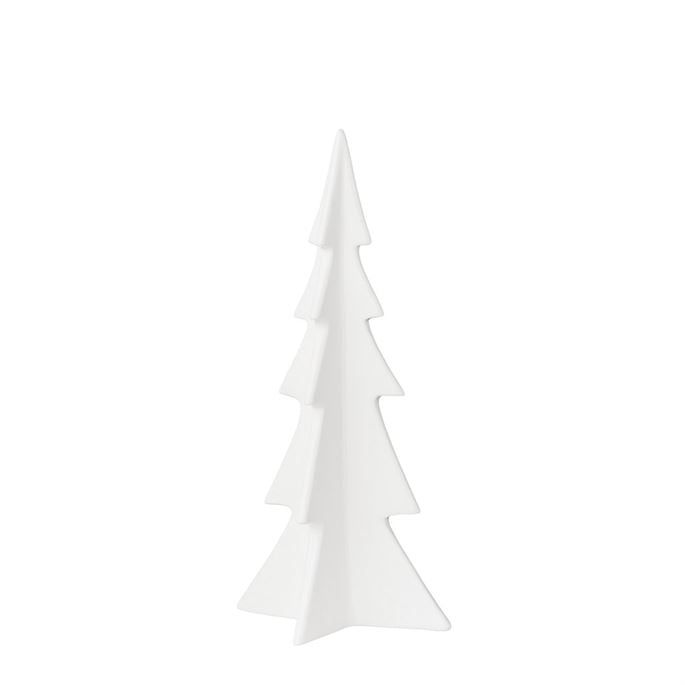 White Porcelain Christmas Tree