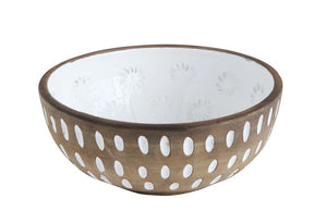 Decorative Terra-cotta Bowl