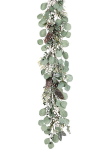 BERRY FOLIAGE GARLAND 4 FEET